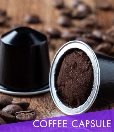 รับผลิตอาหารเสริม แบบกาแฟแคปซูล