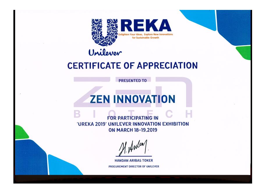 เซน ไบโอเทค Ureka Unilever