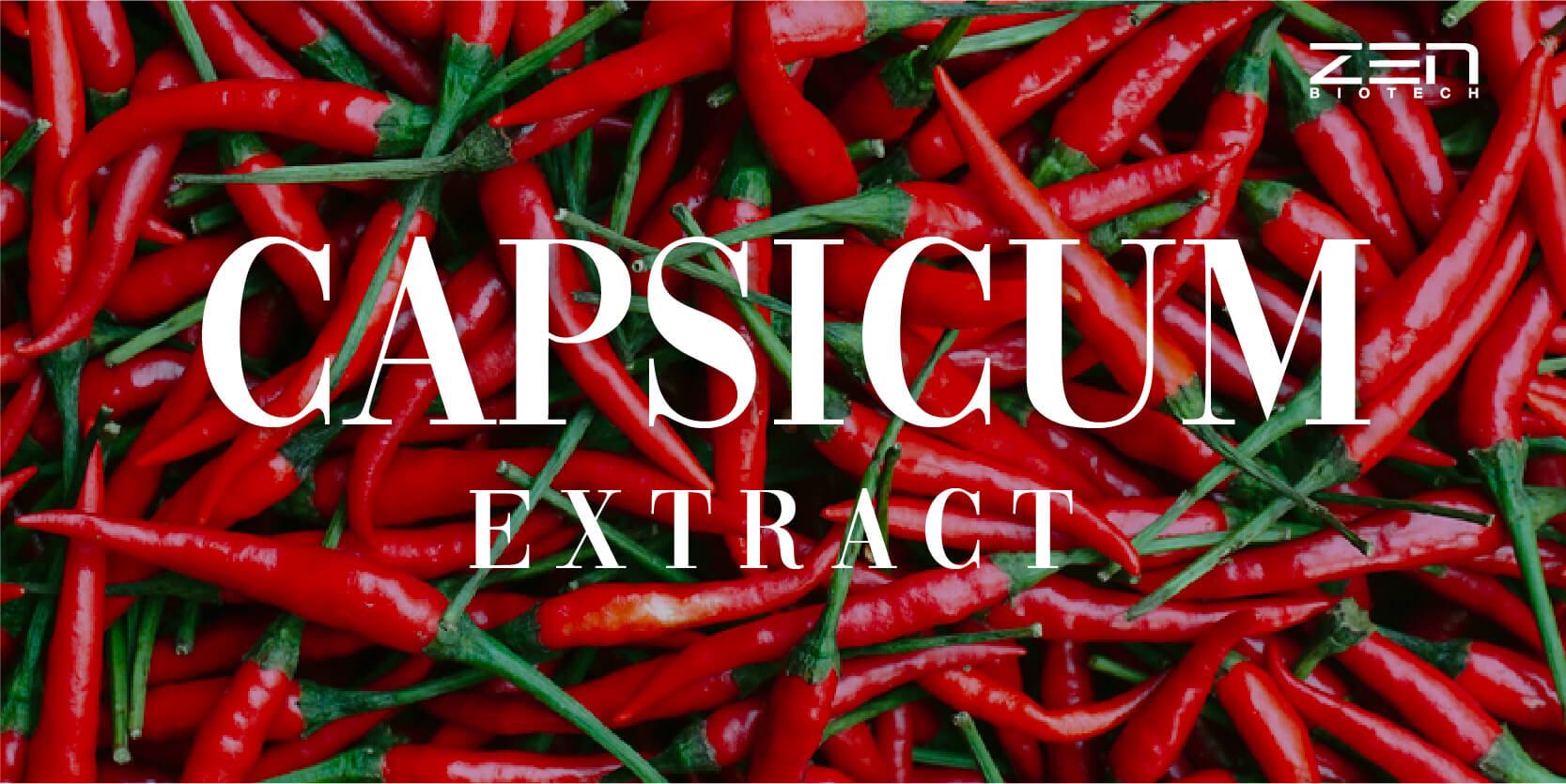 สารสกัดจากพริก Capsicum extract