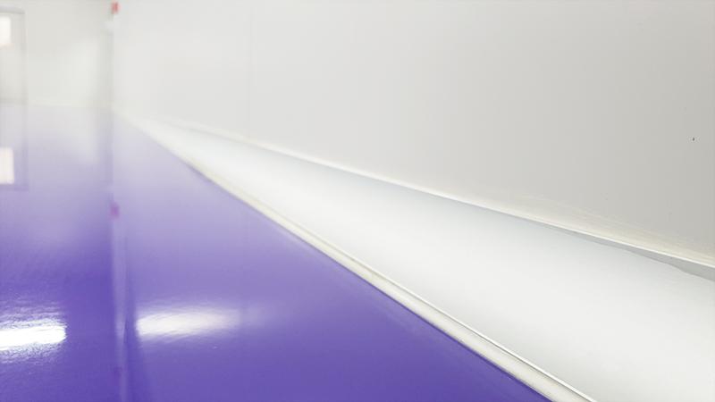 บัว PVC ห้องคลีนรูม