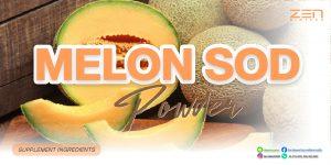 สารสกัดจากเมล่อน Melon SOD