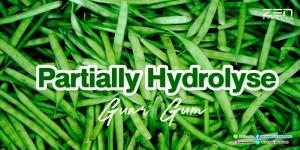 สารสกัดจาก Partially Hydrolysed Guar Gum