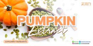 สารสกัดจากเมล็ดฟักทอง Pumpkin seed extract