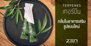เทอร์ปีน !! กลิ่นในอาหารเสริมรูปแบบใหม่ที่จะทำให้แบรนด์น่าสนใจและแตกต่างมากขึ้น